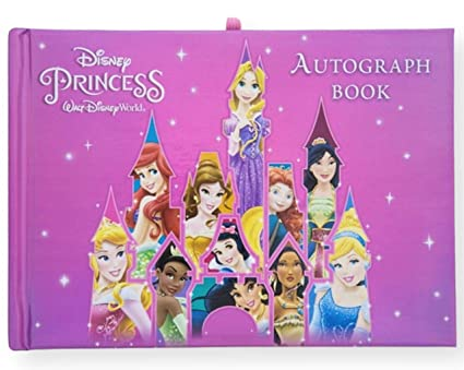 amazon com walt disney world disney princess autograph book disney