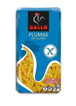 Pastas Gallo - Plumas Sin Gluten Paquete 500 g - [pack de 6]