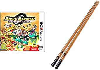 Sushi Striker: The Way Of Sushido + Palillos Sushi (Nintendo 3DS): Amazon.es: Videojuegos
