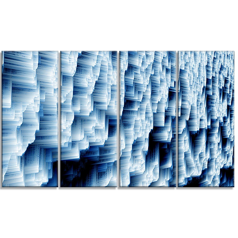 Design Art Abstract Ice-Photography Metal Wall Art-MT6502-48