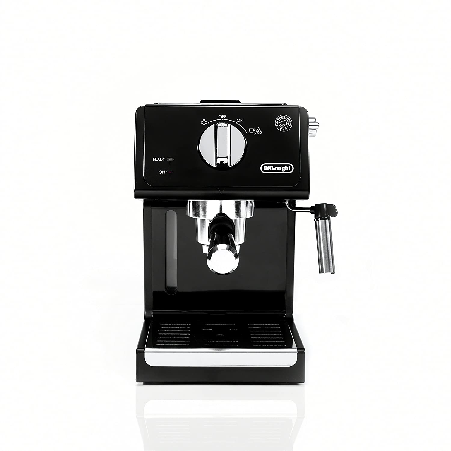 De'Longhi ECP3120 15 Bar Espresso Machine with Advanced Cappuccino System Black/Stainless Steel