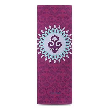 ZEROVIDA Colchoneta de Yoga 5mm Yoga Mat Caucho Natural 100% con Gamuza  Ecológica Esterilla de. Pasa el ratón por encima de la imagen para ampliarla 57b6040226ab