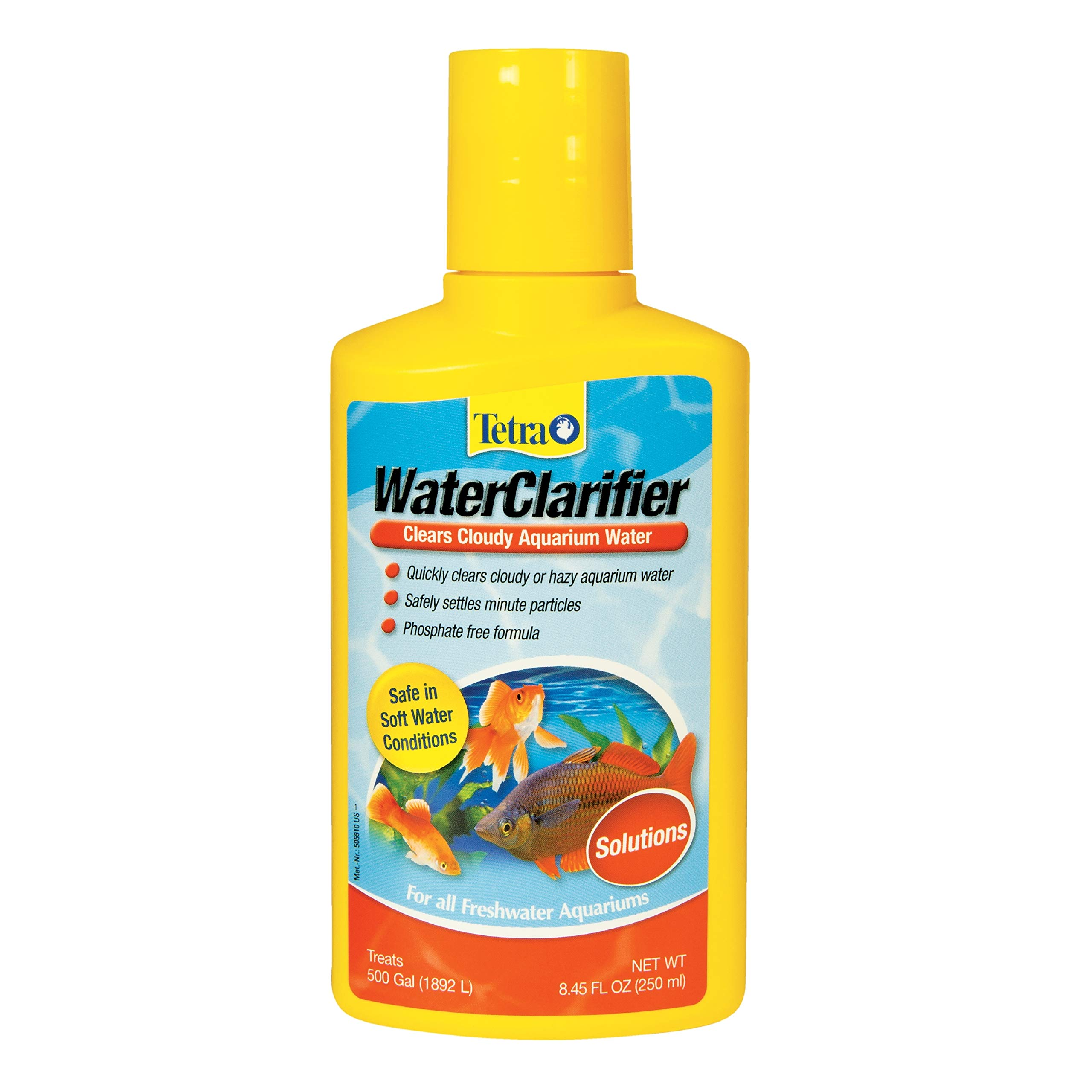 Tetra WaterClarifier Treatment Solution for Freshwater Aquariums