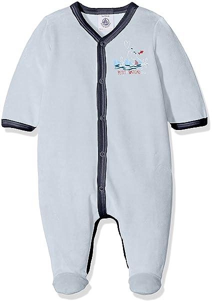 Petit Bateau Luck 1 Conjuntos de Pijama, Unisex Bebé, Azul (Fraicheur),