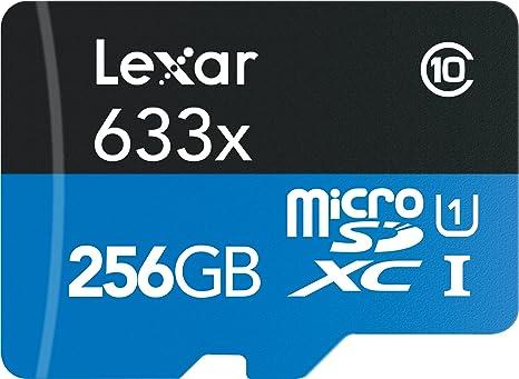 Lexar High-Performance 633X 256GB MicroSDXC UHS-I Card