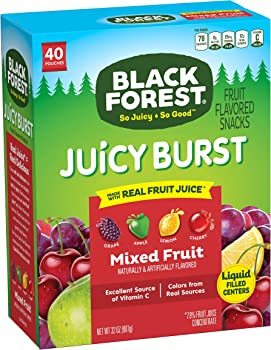 40-Ct Black Forest Medley Juicy Center Fruit Snacks