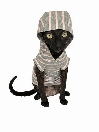 Amazon.com: kotomoda gato con capucha para hombre Nuevo ...
