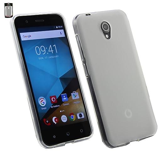 26 opinioni per Emartbuy® Vodafone Smart Prime 7 Matt Case Cover Custodia In Gel Chiaro