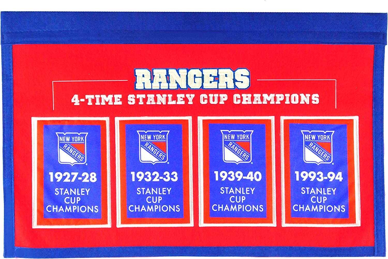 Winning Streak NHL Rafter Raiser Banner