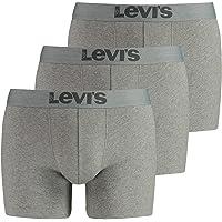 LEVIS Herren Boxershort Print Limited Black Edition 3er Pack