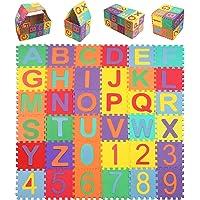 StillCool Alfombra Puzzle Niños de Letras para Niños
