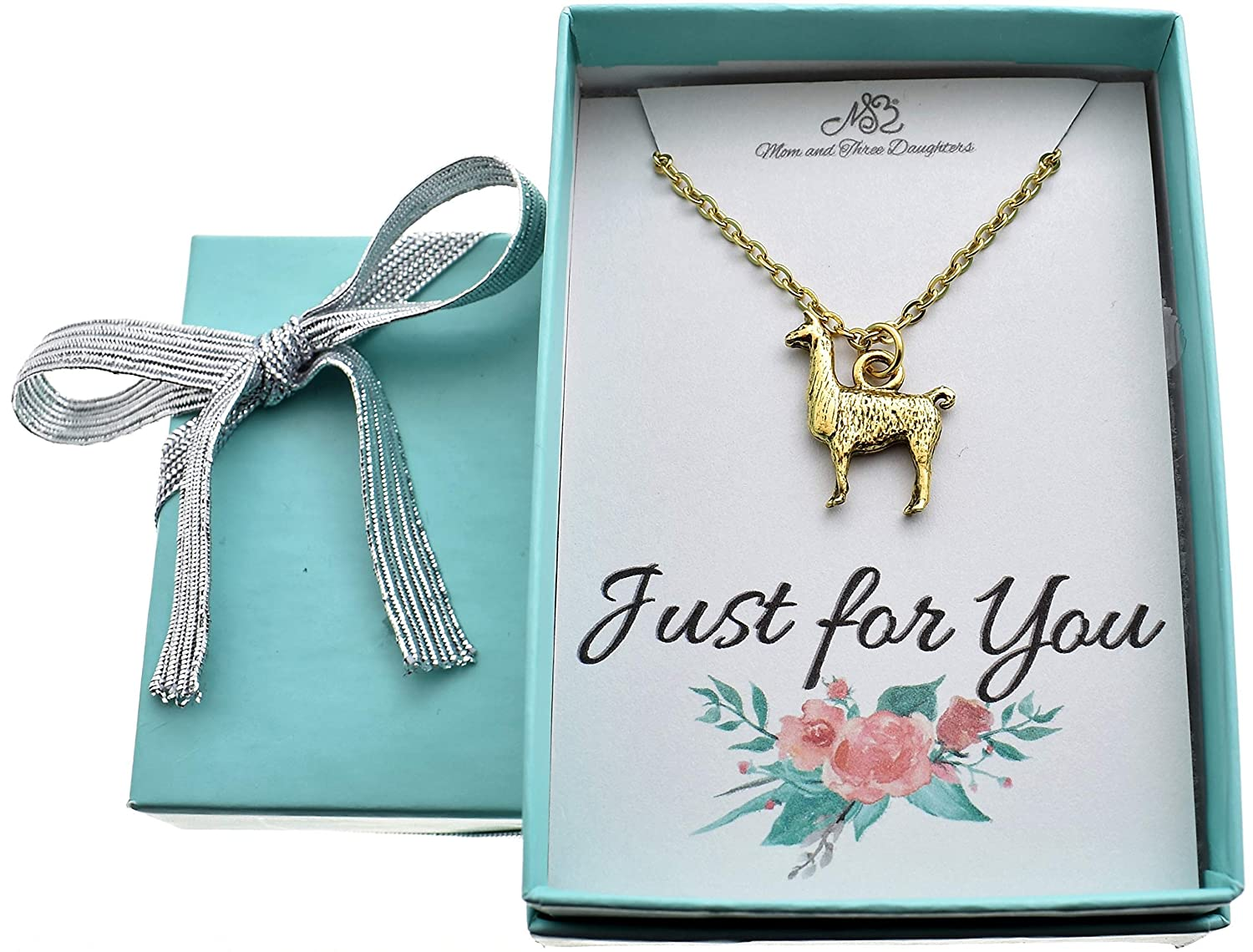 Llama gifts. Llama necklace Llama jewelry Llama necklace in gold plated pewter on an 18 gold plated cable chain Llama charm