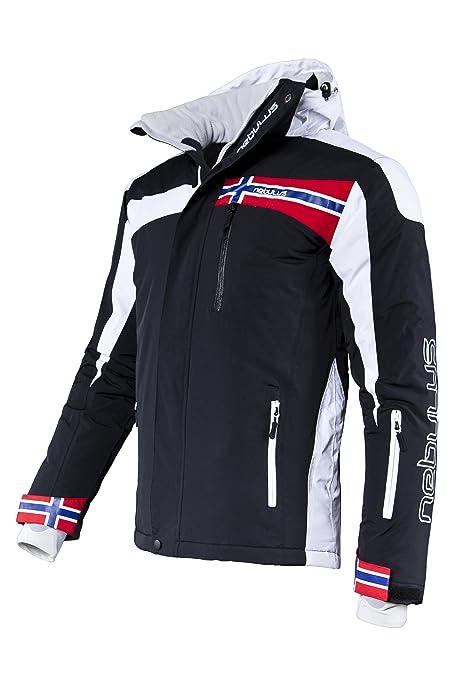 Nebulus Ski Jacket FREESTYLE, men, black, size L, Q 732