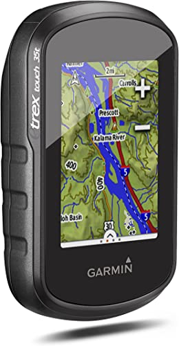 Garmin 010-01325-15 etrex Touch 35t with TOPO Canada 100K
