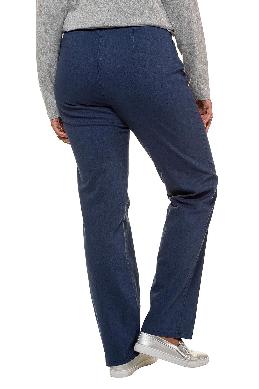 744890e90 Ulla Popken Women s Stretchhose Mony Trousers  Ulla Popken  Amazon.co.uk   Clothing