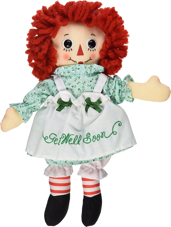 "New Raggedy Ann Classic Doll 16/"" Free Shipping"