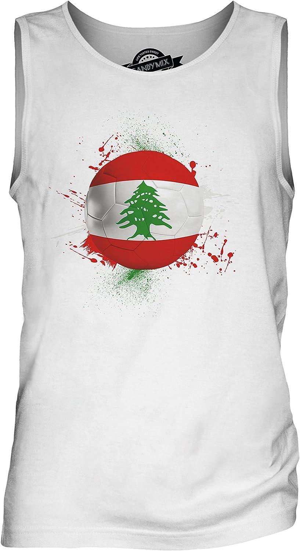 Candymix Liban Football D/ébardeur T-Shirt sans Manche Homme