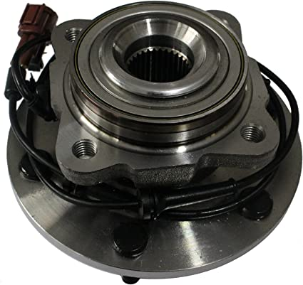 Detroit Axle 515125 New Front Driver /& Passenger Side Complete Wheel Hub /& Bearing Assembly For Nissan Armada Titan 2008 2009 2010 2011 Infiniti Qx56 2008 2009 2010 4WD// AWD Only