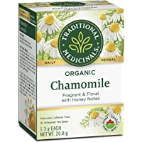 Traditional Medicinals Chamomile; Used to Relieve indegestion; 16 Count Teabags