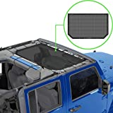 ALIEN SUNSHADE Jeep Wrangler Durable Polyester Mesh Shade Top Cover Provides UV Sun Protection for Your 2-Door or 4-Door…
