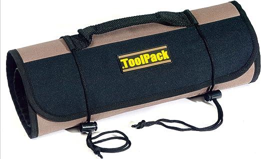 Tool Pack 360,062 funda enrollable para herramientas 67 x 36 cm funda 22 compartimentos: Amazon.es: Hogar