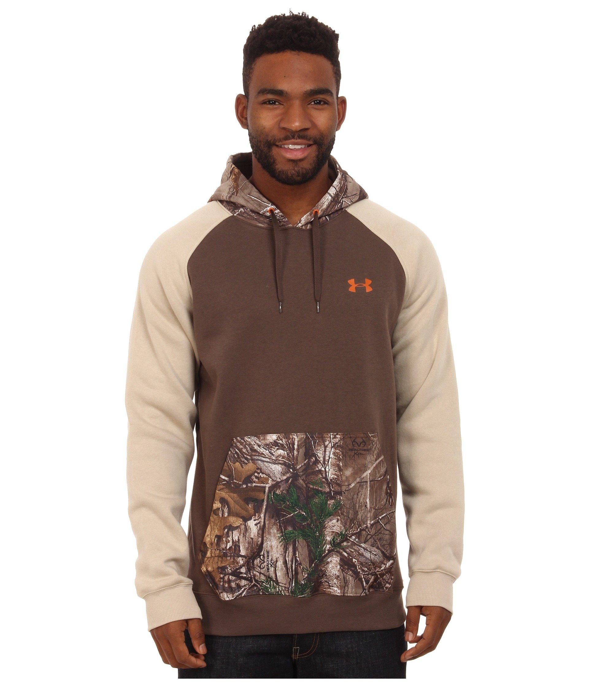 Under Armour UA Realtree TERMINATOR CAMO HEARTHSTONE Sweatshirt Hoodie Men's XL