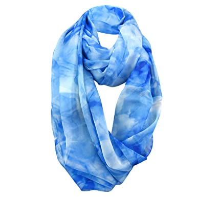 994b8d277 Image Unavailable. Image not available for. Color: Chiffon Lightweight  Infinity Scarf for Women - Perfect for Spring, Summer and even Fall