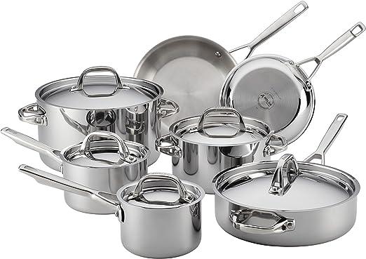 Amazon.com: Anolon 12 uds. Juego de utensilios de cocina de ...