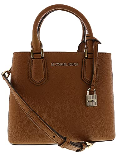 Amazon.com  Michael Kors Women s Adele Medium Leather Messenger Bag Cross  Body - Luggage  Michael Kors  Shoes bdee3ff6be466