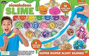 Nickelodeon CRA-Z-Art Pre-Made Slime Super Duper Slimy Blendz Kit