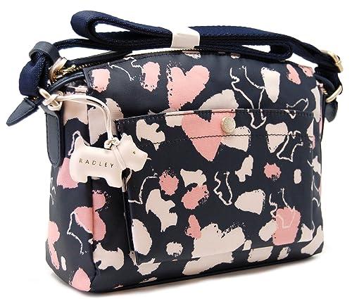 f20a5701925 Radley Columbia road oilskin crossbody bag shoulder bag hand bag   Amazon.co.uk  Shoes   Bags