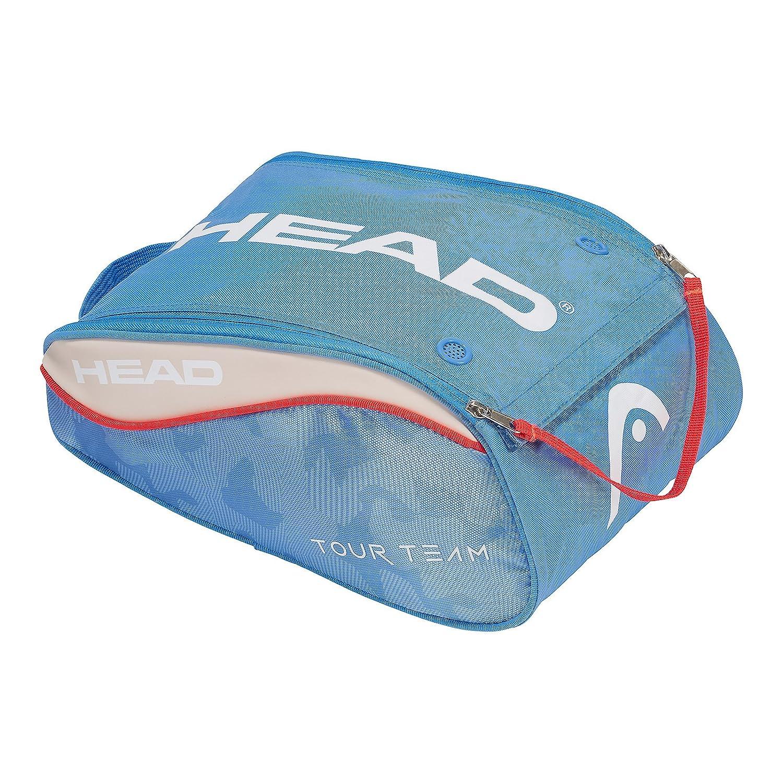 Head Bolsa Tour Team SHOEBAG Azul Blanco: Amazon.es ...