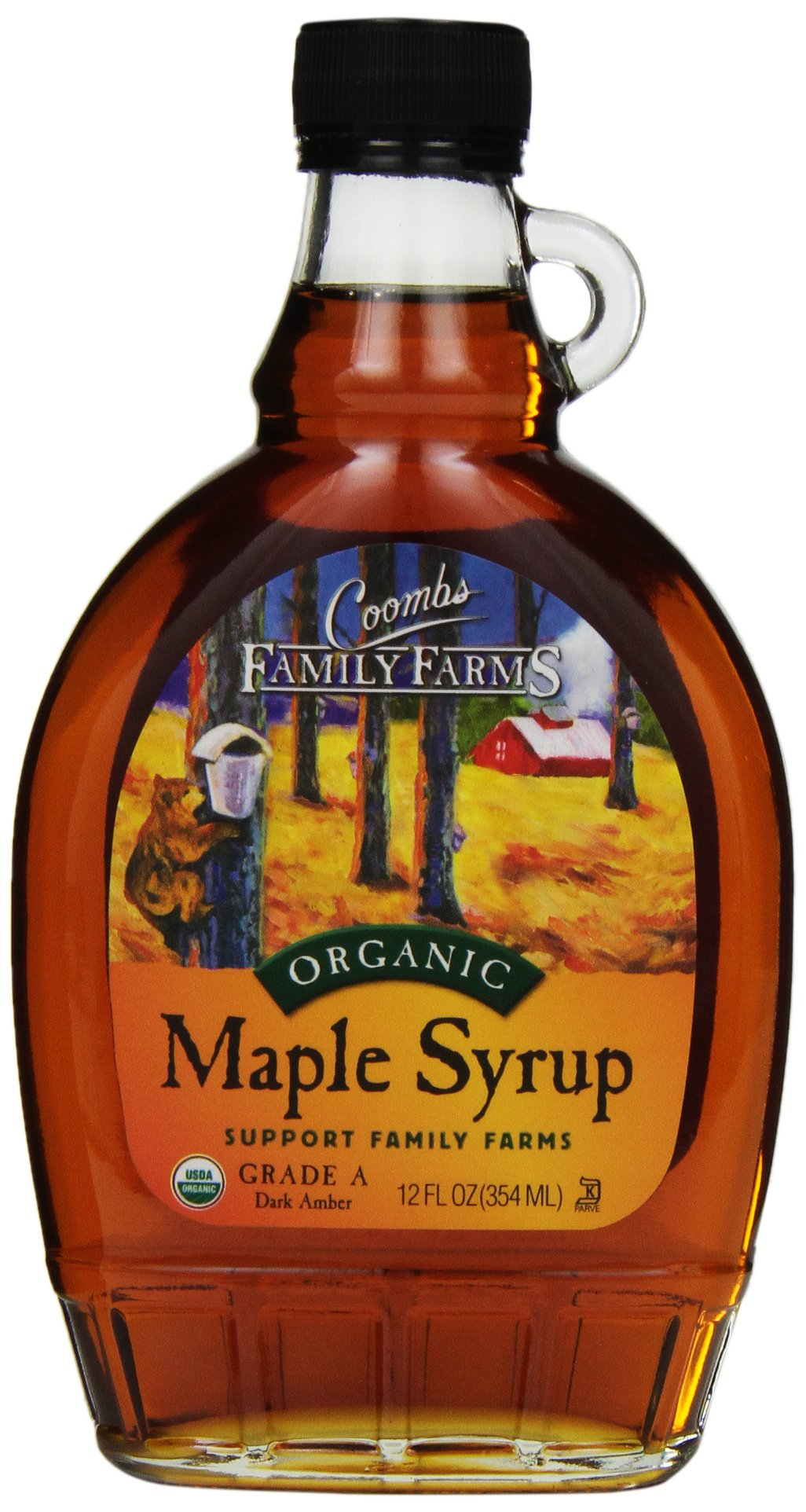 Coombs Family Farms, Grade A Maple Syrup, 12 oz
