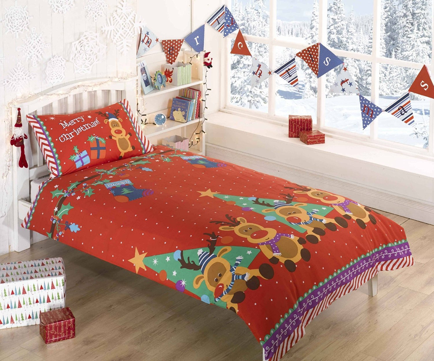 nytexas holiday christmas bed bedding double celebration for the