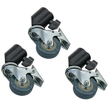 DynaSun SA22A - Lote de 3 Ruedas para trípode de fotografía y vídeo: Amazon.es: Electrónica