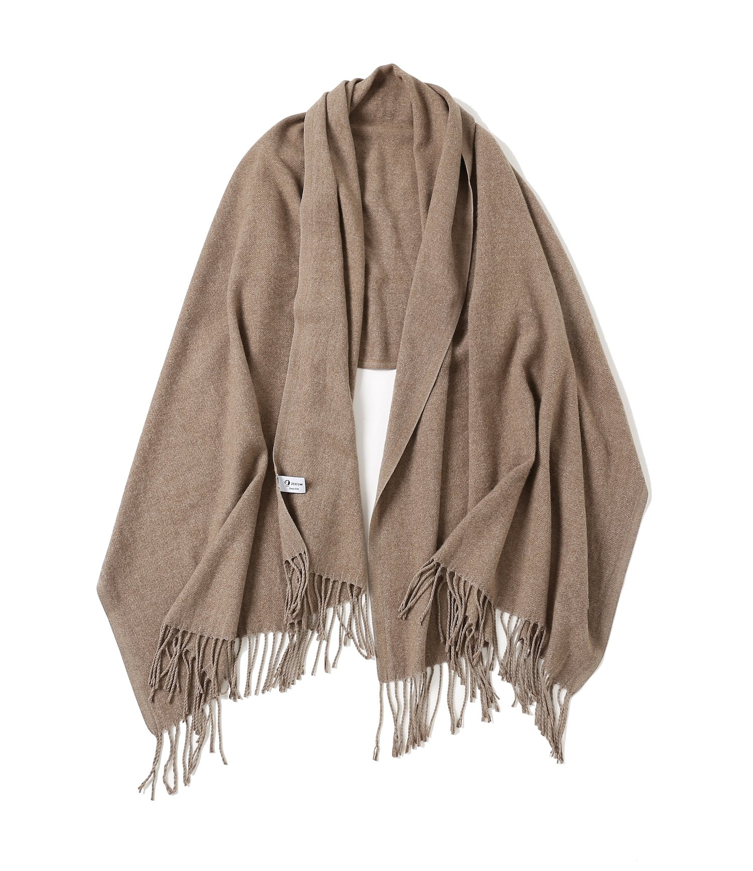 Jeelow Blanket Scarf Shawls Wrap Soft Cashmere Feel Large Scarfs For Men And Women