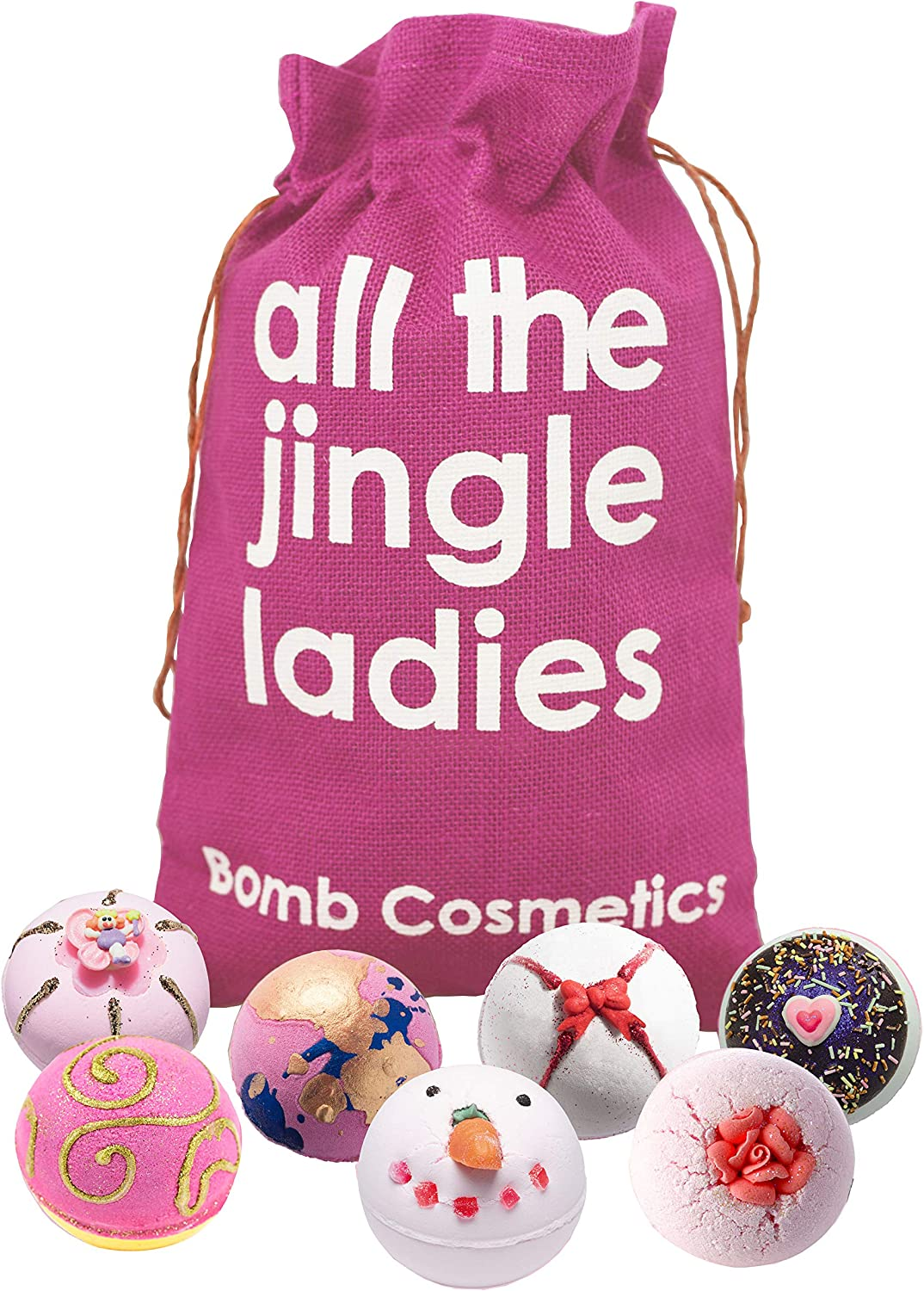 Bomb Cosmetics All the Jingle Ladies  Gift Pack WAS £17.99 NOW £11.82 @ Amazon