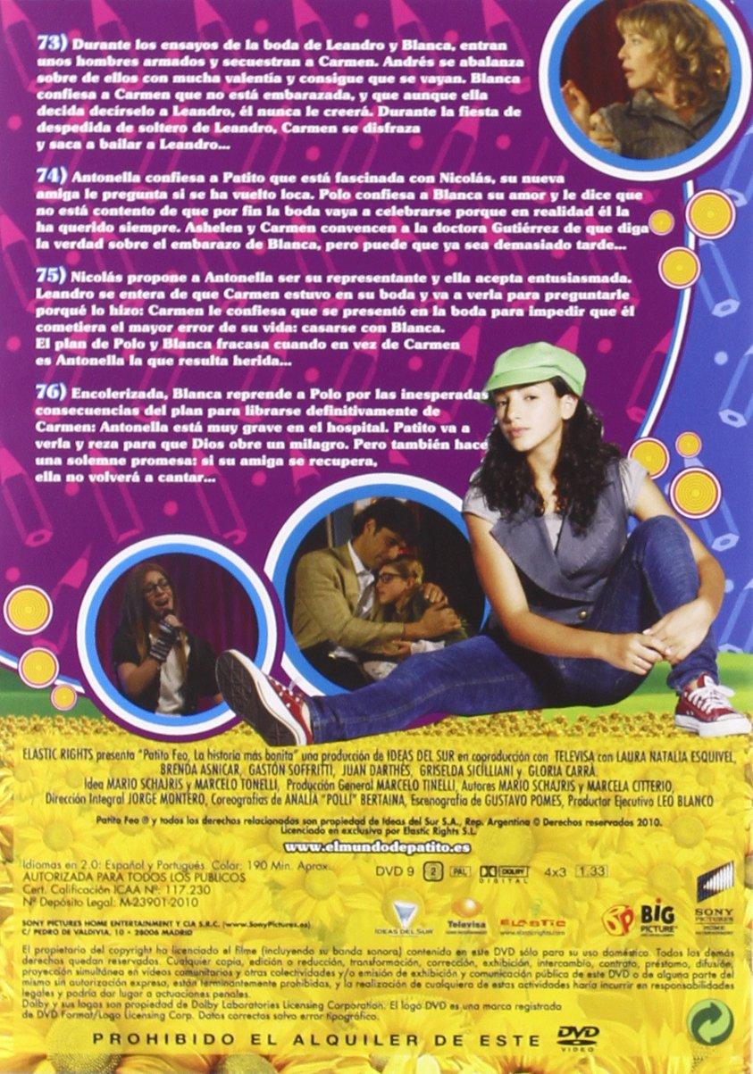 Patito feo (1ª temporada Vol 4) [DVD]: Amazon.es: Laura Esquivel, Gloria Carrá, Griselda Siciliani, Cristian Belgrano, Juan Darthés, Marcela López Rey, ...