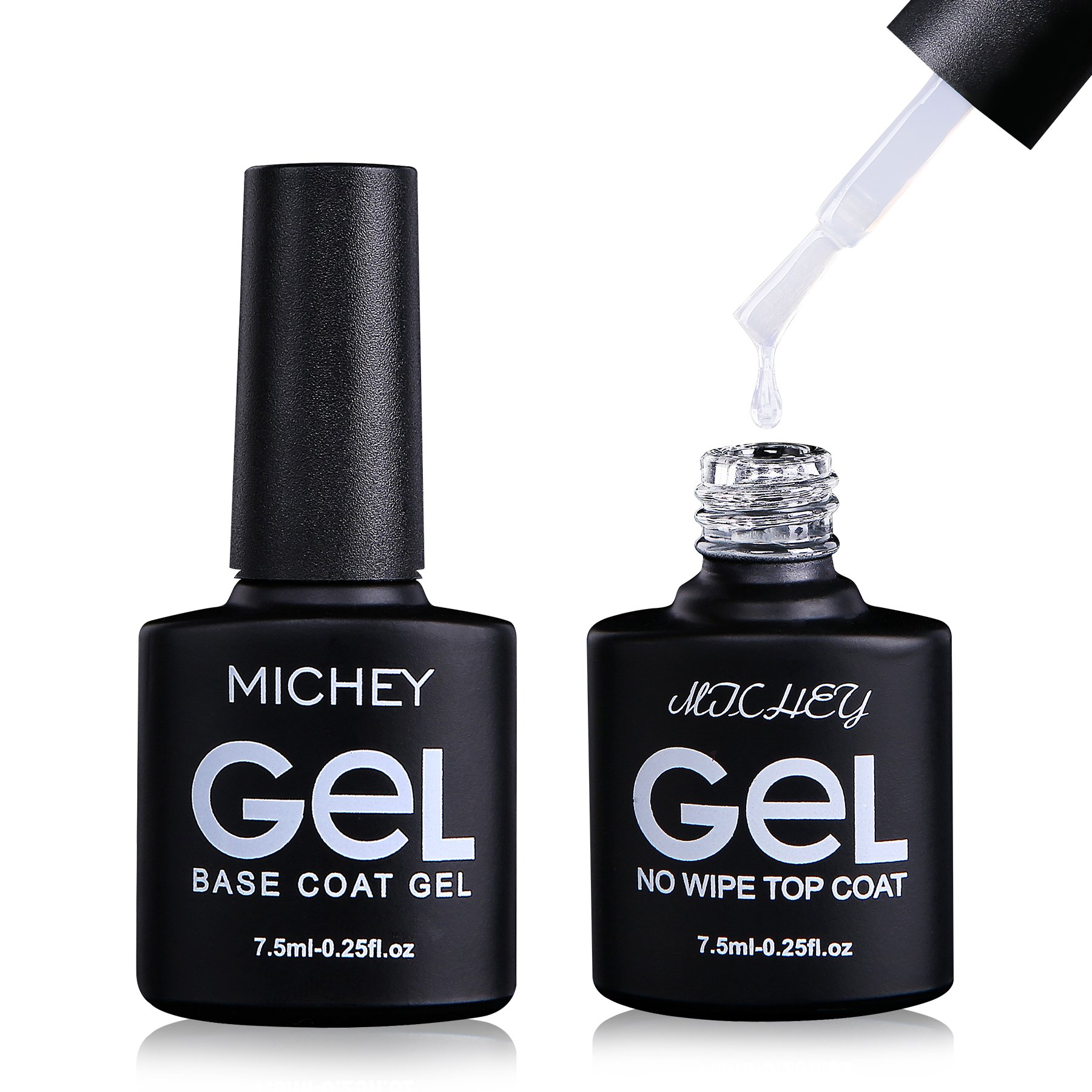 Amazon.com : MICHEYGel UV Gel Nail Polish, pack of 4, Gel Nail ...