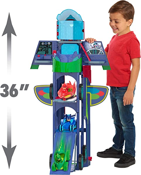 PJ Masks 2-in-1 Mobile Headquarters Playset toy for kids