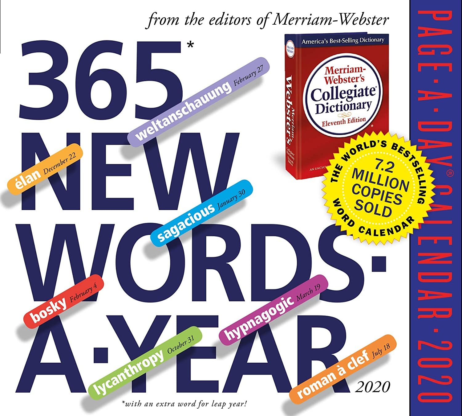 365 New Words-A-Year Page-A-Day Calendar 2020 [5.5