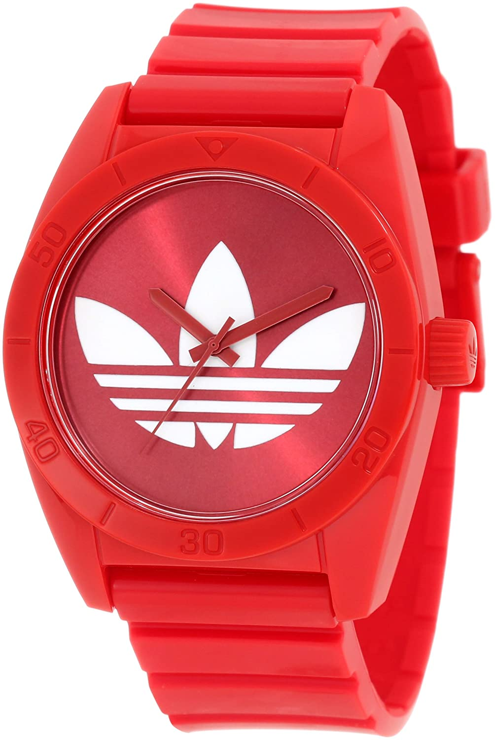 80aebb190555 adidas originals Watches Santiago (Red)