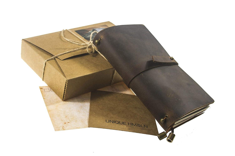 giugno 2020. per raggiungere obiettivi settimanali e giornalieri regalo da luglio 2019 gratitudine e felicit/à Diario in pelle con calendario mensile e mensile HM/&LN migliora la produttivit/à