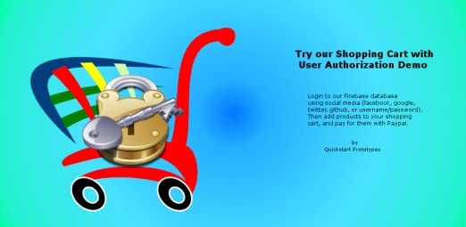 Amazon com: Shopping Cart with User Authorization Demo using Ionic