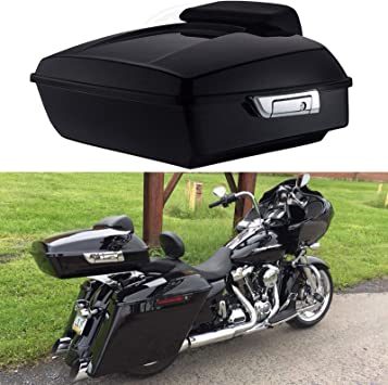 Razor Chopped Tour-Pak Backrest Pad Fit For Harley Touring Road Street Glide New