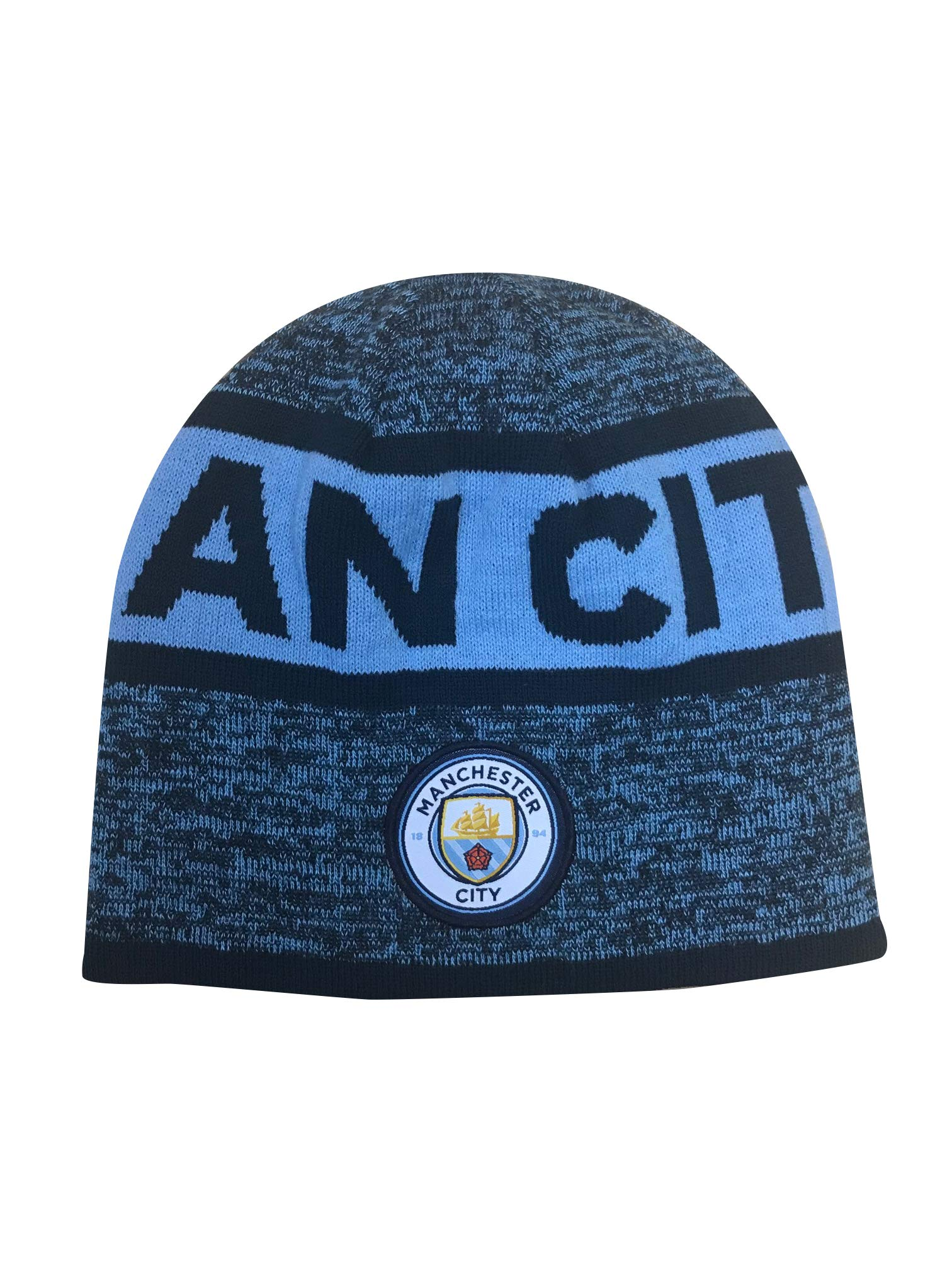 Icon Sports Manchester City Official Licensed Reversible Beanie by Icon Sports