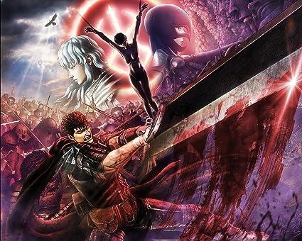 Amazon.com  Berserk Poster Anime Japanese Manga Wall Art Decor 16x20 ... a6ca2568f