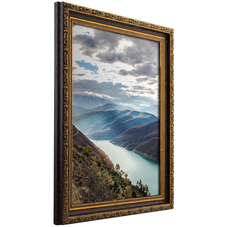 Craig Frames 写真用額縁 装飾仕上げ 幅 0.75~2 インチ カラーと仕上げは各種取り揃え 24 x 36 ゴールド 94872436AC B005PO0GGO 24 x 36,1.275