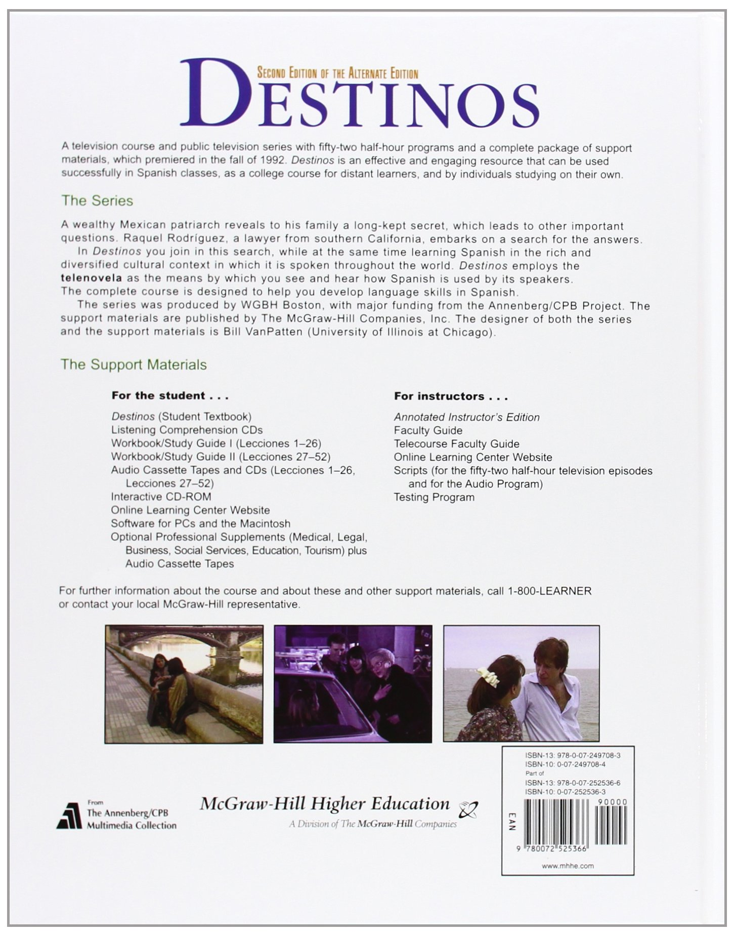 Worksheets Destinos Worksheet Answers destinos student edition wlistening comprehension audio cd bill vanpatten martha alford marks richard v teschner 9780072525