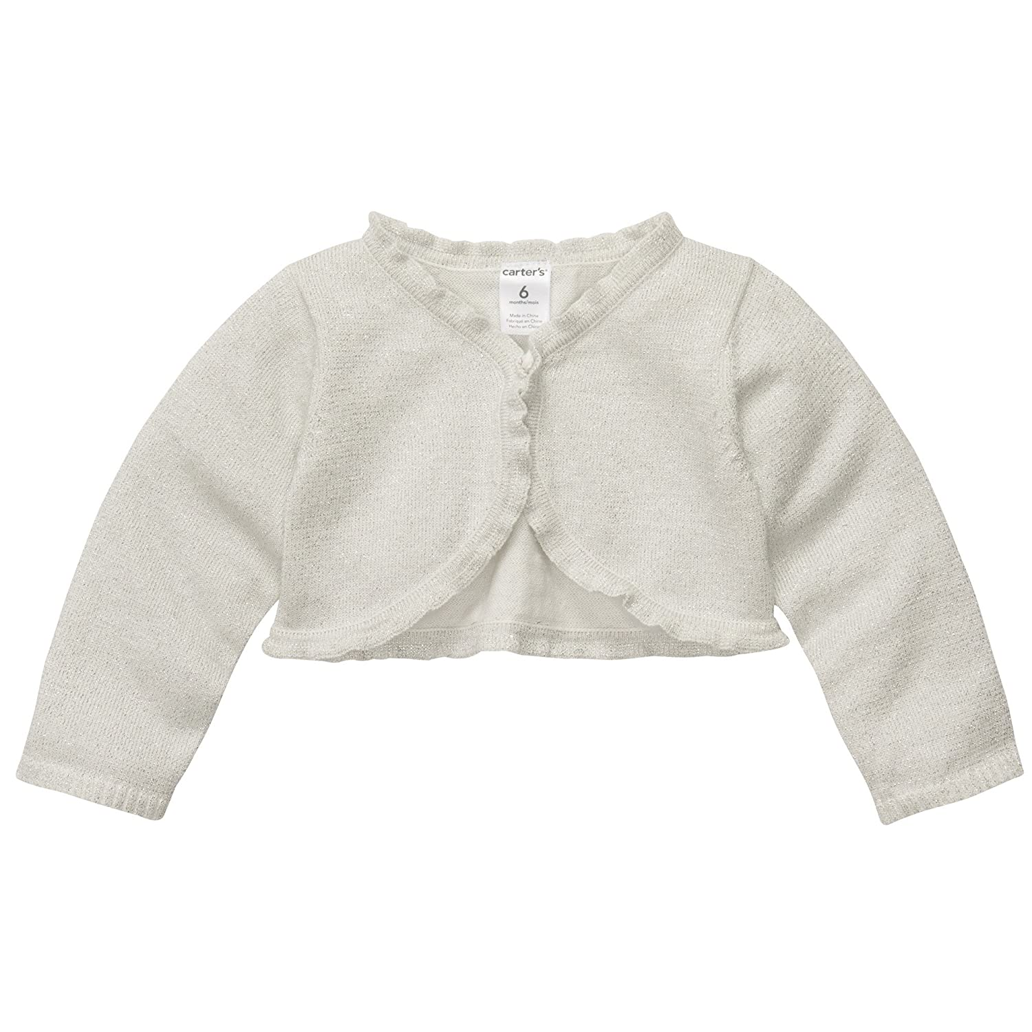 Carters Shimmer Cardigan Size 9 Months